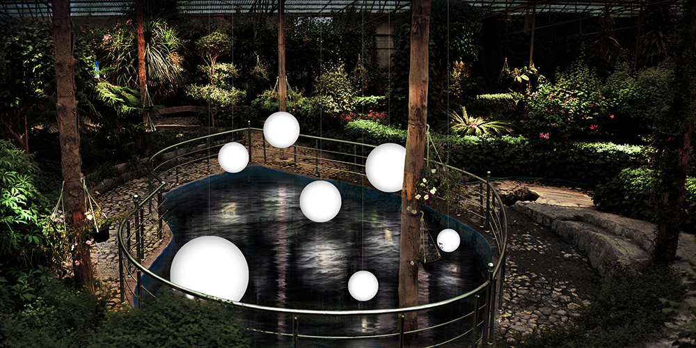شرکت پرتو فام، باغ پروانه ها